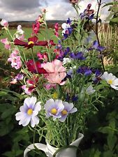 Artificial Wild Flower Meadow Silk Collection 10 Different Stems