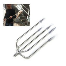 Fishing Tackle five Prong Fishing Fish Frog Barbed Stainless Gig Spear
