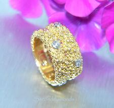 Ein Traum Brillantring 750 Gold / 18 kt Brillanten Diamanten Luxus Pur