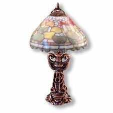 Dollhouse Miniature Fruit Shade Table Lamp-Non Electric