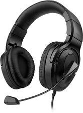 SPEEDLINK MEDUSA XE Virtual 7.1 Surround Gaming Headset, Over-Ear, PC USB, black