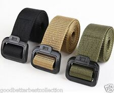 Adjustable Mens Army MilitaryTactical Outdoor Casual Sport Nylon Belts 3 Sizes