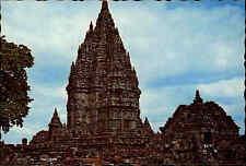 Post Card Indonesien Indonesia Candi Prambanan Jawa Tengah Tempel Temple color