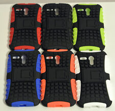 Heavy Duty Tough Strong TPU Hard Case Cover Stand For Motorola Moto G 4G LTE