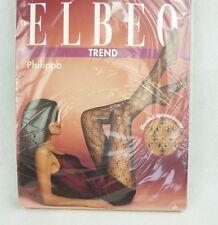 Elbeo Trend Strumpfhose Philippa Rosenholz mit Spitzenmuster 20den Größe 44-46