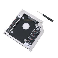 2nd HDD Hard Drive Optical Bay adapter Case Caddy For Macbook Pro Unibody Tray