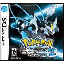 Pokemon Black Version 2 Game DS Brand New