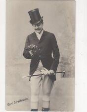 Carl Streitmann Austria Actor / Singer Vintage RP Postcard 373a