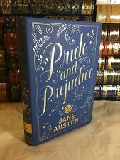 PRIDE AND PREJUDICE by JANE AUSTEN Leatherbound Collectible Edition & NEW!