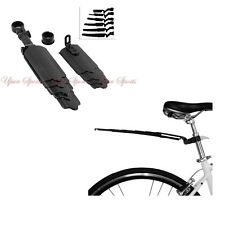 Mountain Bike Bicycle Front Rear Mudguard Fender Durable Set Foldable Mud Guard