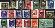 Bes. 2. WK Laibach Aufdruckserie 1944** geprüft (S5207)