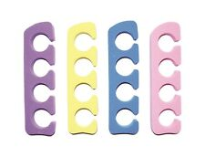 5 PAIRS OF SOFT FOAM TOE SEPARATORS - nail polish lacquer pedicure