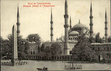 Constantinople Istanbul alte AK ~1910 Moschee Mosquée Ahmed et l'Hippodrome
