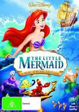 THE LITTLE MERMAID  Disney 2-Disc Special Edition DVD PAL4 * VGC *