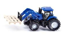 Siku 1487 New Hollland Front Loader Tractor mit Forks and Palette New 2016