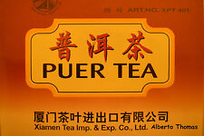 Puer Tea Bags Diet Aid Weight Loss Slimming Benefits Puerh Pure Chinese x100