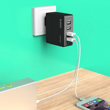 ORICO 34W 4 Port USB Charger EU Plug iPad iPhone Samsung Sony HTC Wall charger