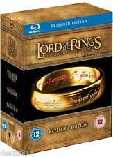 Lord of the Rings Extended Edition Trilogy Blu-ray Box Set BRAND NEW + SEALED RB