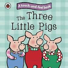 The Three Little Pigs: Touch and Feel Fairy Tales children's interactive story