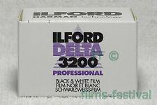 10 rolls ILFORD DELTA 3200 Professional 35mm 36exp B&W Film