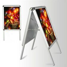A2 A-BOARD PAVEMENT SIGN POSTER SNAP FRAME DOUBLE SIDE SIGN DISPLAY STANDS