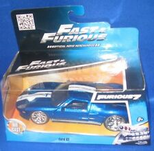 UNIVERSAL STUDIOS FAST & FURIOUS MOVIE FORD GT 1:32 DIE CAST COLLECTIBLE CAR