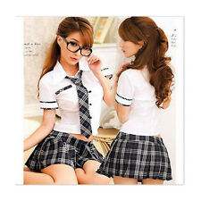 Sexy Lingeries Lady japan high school girl dress uniform women adult costume out