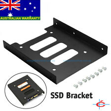 Metal 2.5 to 3.5 inch Bracket Disk Drive Dock Adapter Mounting Kit for SSD