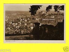 Marburg Lahn Blick auf Teutonenhaus u.a. Verbindungshäuser Schloß 24.11.1938