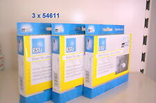 ESU 3 X 54611 V 4,0 DCC 8 POLIGER  STECKER  LASTGEREGELT