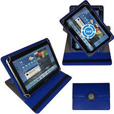 360° 10 Zoll Tablet Tasche für ARCHOS 101c Copper Schutz Hülle Stand Etui  Blau