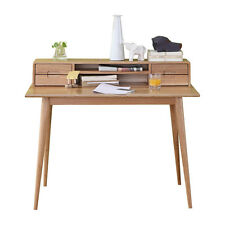 100% Solid Oak Modern Writing Bureau RRP £545.00