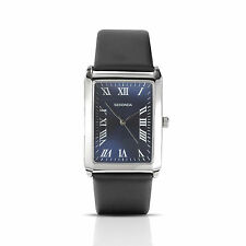 Sekonda 3223 Mens Rectangle Blue Face Watch