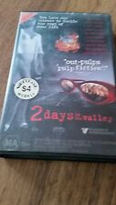 2 DAYS IN THE VALLEY - DANNY AIELLO, TER HATCHER, JEFF DANIELS - VHS VIDEO