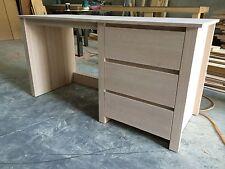 Solid Tasmania Oak Timber Computer Desk Hard Wood Study Desk Office Desk