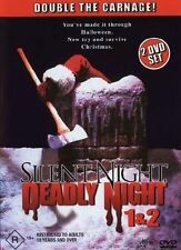 Silent Night, Deadly Night 1 & 2 (DVD, 2005, 2-Disc Set)