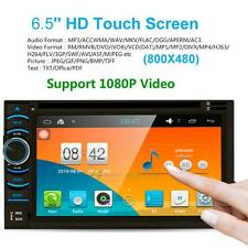 """Quad Core Android 4.4.4 Car GPS DVD Player Touch Screen WIFI 6.5"""" HD 2 DIN Radio"""