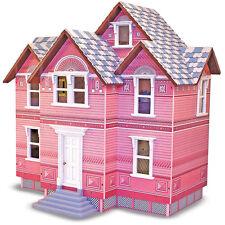 Melissa & Doug Victorianisches Puppenhaus / Puppenstube aus Holz