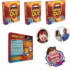 2016 New Speak Out Board Game Mouthguard Challenge Game