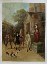 Ölbilder Ölgemälde Gemälde The New Mount 52 cm x 70 cm.