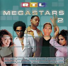 RTL MEGASTARS VOL. 2 / 2 CD-SET - TOP-ZUSTAND