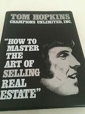 "TOM HOPKINS Audio Cassette Set ""How To Master The Art Of SELLING Real Estate"""