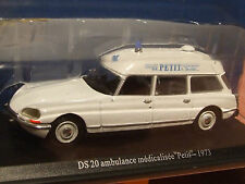 1:43 SCALE   1973 CITROEN DS 20 FRENCH AMBULANCE