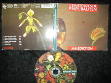 RARE Limited CD Einstürzende Neubauten - Malediction  --- Industrial