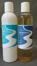 LIQUID CASTILE SHAMPOO BLEND & PREMIUM CONDITIONER UNSCENTED 100% NATURAL 250ml.