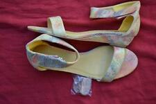 I Lov Billy Citrus Multi LEATHER-LOOK Sandals Womens' Size 7.5-39/EUR MARE STYLE