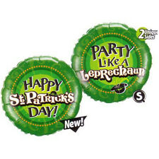 Party Supplies St Patrick's Day Party Like a Leprechaun 45cm Foil Balloon