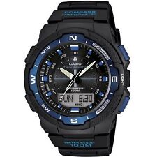 Genuine CASIO SGW-500H-2BV MENS Sport WATCH Compass Thermometer Twin Sensor