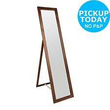 HOME Wooden Cheval Full Length Mirror - Walnut -From the Argos Shop on ebay