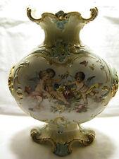 Jugendstil Vase  37 cm hoch- wohl-Mehlem Bonn oder Ludwig Wessel Bonn um 1900